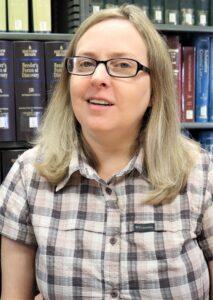 Law Librarian Amber Boedigheimer